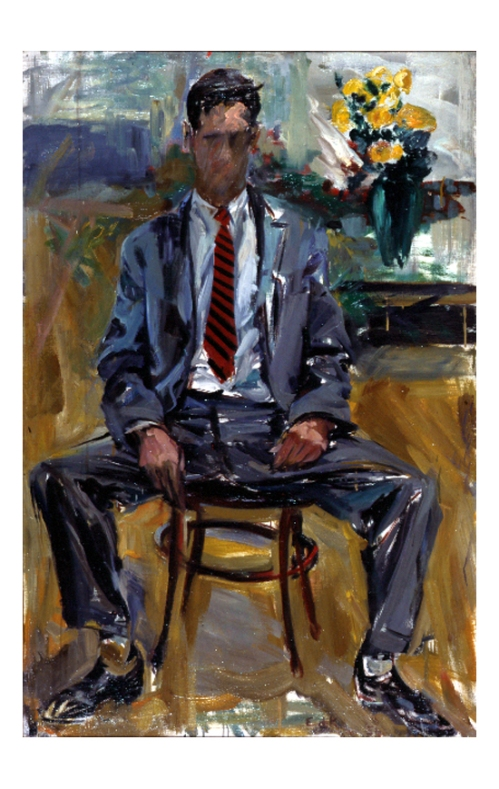 Elaine de Kooning, Fairfield Porter (1954, Kansas City, Missouri, Kemper Museum of Contemporary Art).