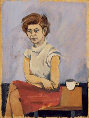 Elaine de Kooning, Edith Burkehardt (1944, San Francisco, California, Hackett-Freedman Gallery).